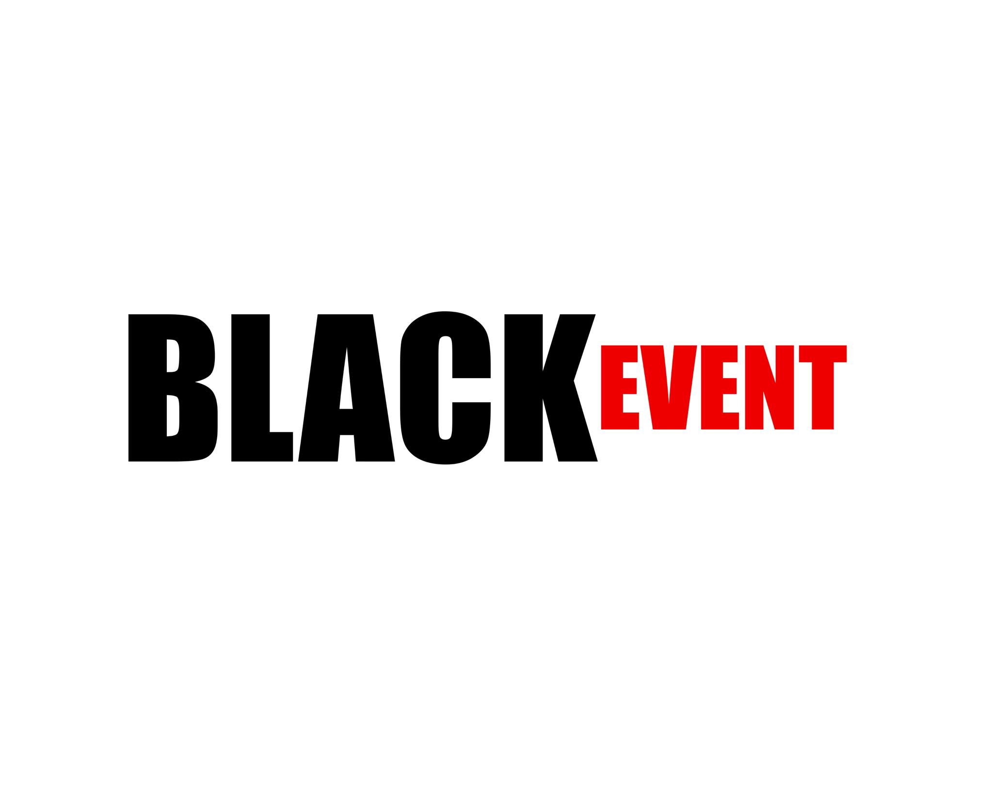 Black Event Logo